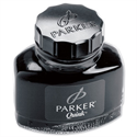 Parker Quink Ink Bottle Black Washable 57ml RefS0037450