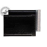 Purely Packaging Envelope P&S 250x180mm Padded Metallic Black Ref MBB250 [Pk 100]