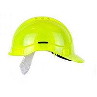 Scott Safety Style 300 HC300EL Vented Hi-Vis Helmet with Terylene Standard Headgear Yellow Ref HC300VELHY