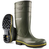 Dunlop Acifort Wellington Boots Heavy Duty Size 6 Green Ref B44063106