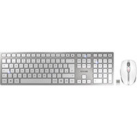Cherry DW9000 Rechargeable Wireless Slim Keyboard and Mouse Set Ref JD-9000GB-1
