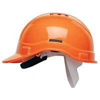 Scott Safety Style 300 HC300EL Vented Helmet with Terylene Standard Headgear Orange Ref HC300VELOR