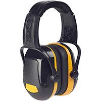Scott Safety Zone 1 Industrial Headband Ear Defender Black & Yellow Ref Z1HBE