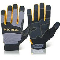 Mecdex Work Passion Impact Mechanics Glove L Ref MECDY-713L