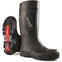 Dunlop Purofort Plus Safety Wellington Boot Size 6 Black Ref C76204106