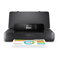 HP OfficeJet 200 A4 Colour Inkjet Wireless Mobile Printer 128MB 2 inch Mono LCD 10ppm Mono ISO 7ppm Colour ISO 500 MDC 34 sec Photo