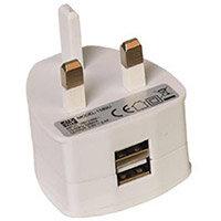 Two Port USB Power Plug