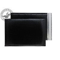 Purely Packaging Envelope P&S 450x324mm Padded Metallic Black Ref MBB450 [Pk 50]