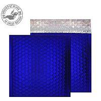 Purely Packaging Bubble Envelope P&S CD Metallic NeonBlue Ref MTNB165 [Pk 100]
