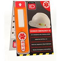 Vitalid Emergency ID Data Window Global Ref WSID02G