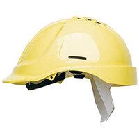 Scott Safety Style 600 HC600 Vented Helmet with Terylene Standard Headgear Yellow Ref HC600VY