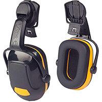 Scott Safety Zone 1 Industrial Helmet Mounted Ear Defender Black & Yellow Ref Z1HME