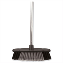Bentley Soft Bristle Broom Indoor Chrome Handle 12 Inch HL2801/G/F4