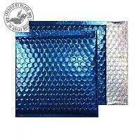 Purely Packaging Envelope P&S 165x165mm Padded Met Blue Ref MBBLU165 [Pack 100]
