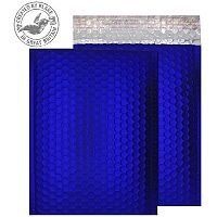 Purely Packaging Bubble Envelope P&S C5+ Metallic NeonBlue Ref MTNB250 [Pk 100]