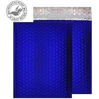 Purely Packaging Bubble Envelope P&S C5+ Metallic NeonBlue Ref MTNB250 [Pk 100]
