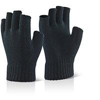 Click2000 Fingerless Mitts Black Pack of 10 Ref FLM