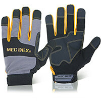 Mecdex Work Passion Impact Mechanics Glove S Ref MECDY-713S