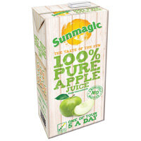 Sunmagic 1 Litre Pure Apple Juice Drink Pack of 12