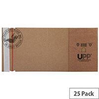 Blake Purely Packaging 145x127mm Peel and Seal Book Wrap Manilla Pack of 25