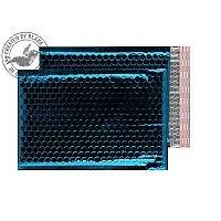 Purely Packaging Envelope P&S 250x180mm Padded Met Blue Ref MBBLU250 [Pack 100]