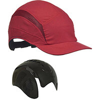 Scott Safety First Base 3 Classic Cap Reduced Peak Red Ref HC24RRP
