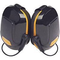 Scott Safety Zone 1 Industrial Neckband Ear Defender Black & Yellow Ref Z1NBE