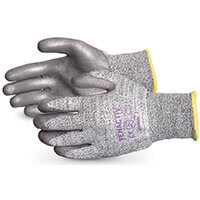 Superior Glove Tenactiv Cut-Resist Composite Knit PU Palm 7 Grey Ref SUSTAFGPU07
