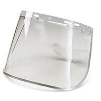Bbrand 8 inch Metal Edge Face Visor Clear Ref BBMEFV8