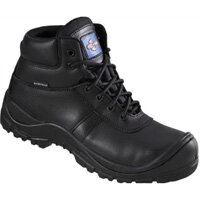 Rock Fall ProMan Size 6 Safety Boots Leather Fully Waterproof and Non Metallic Breathable Black