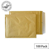 Blake Purely Packaging 220x150mm Peel and Seal Padded Envelopes Gold Pack of 100