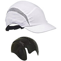 Scott Safety First Base 3 Classic Cap Reduced Peak White Ref HC24WRP