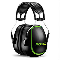 Moldex M6 Ear Muff Black Attenuation 35 dB Ref M6130