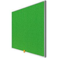 Nobo 32 inch Widescreen Felt Board 710x400mm Green Ref 1905314