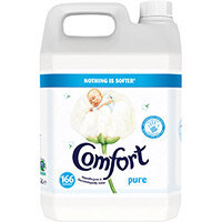 Comfort Concentrated Fabric Softener 166 Washes 5L Ref 707822