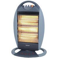 Igenix 1200W Halogen Heater 3-Heat Settings 220V Grey