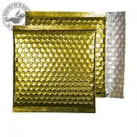 Purely Packaging Envelope P&S 165x165mm Padded Met Gold Ref MBGOL165 [Pack 100]