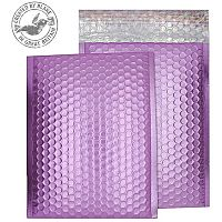 Purely Packaging Bubble Envelope P&S C5+ Metallic Pink Ref MTP250 [Pack 100]