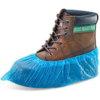 Click Once Economy Disposable Waterproof Overshoes Blue Pack of 2000 Ref DOSECB