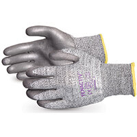 Superior Glove Tenactiv Cut-Resist Composite Knit PU Palm 12 Grey Ref SUSTAFGPU12