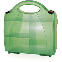 Click Medical Eclipse Box Green with Partitions Ref CM1006