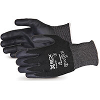 Superior Glove Emerald CX Nylon S/Steel Nitrile Palm 11 Black Ref SUS13KBFNT11