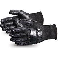 Superior Glove Emerald CX Impact/Cut-Resist Nylon S/Steel L Black Ref SUSKBFNTVBL