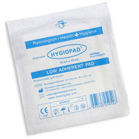 Click Medical Hygiopad 10x10cm Low Adherent Dressing Pack of 25 Ref CM0417