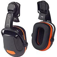 Scott Safety Zone 2 Industrial Helmet Mounted Ear Defender Black & Orange Ref Z2HME