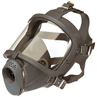 Scott Safety Sari Full Face Mask Adjustable Harness Grey Ref 5511680