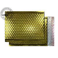 Purely Packaging Bubble Envelope P&S C5+ Metallic Gold Ref MBGOL250 [Pk100]