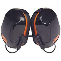 Scott Safety Zone 2 Industrial Neckband Ear Defender Black & Orange Ref Z2NBE