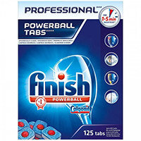 Finish Professional Powerball Dishwasher Tablets Pack of 125