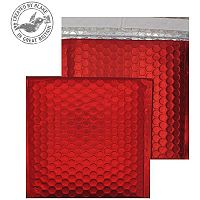 Purely Packaging Bubble Envelope P&S CD Matt Metallic Chilli Ref MTR165 [Pk 100]